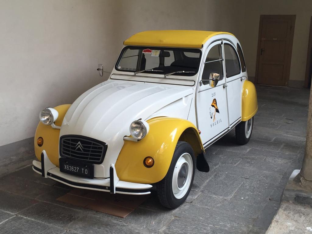 citroen 2cv club italia